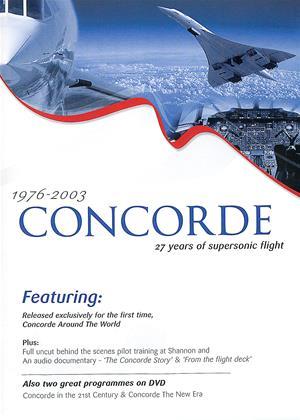 Rent Concorde: 27 Years of Supersonic Flight Online DVD Rental