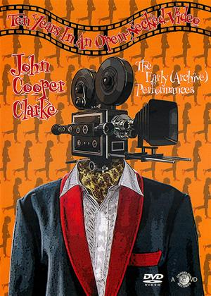 Rent John Cooper Clarke: Ten Years in an Open-Necked Video Online DVD Rental