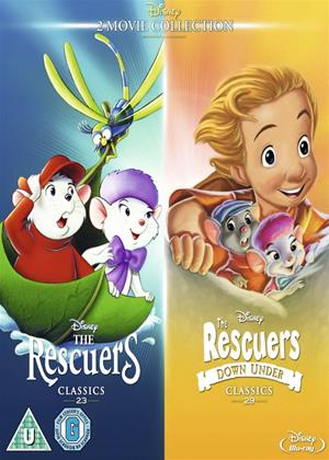 Rent The Rescuers / The Rescuers Down Under Online DVD Rental