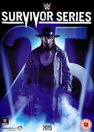 Rent WWE: Survivor Series: 2015 Online DVD Rental