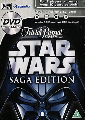 Rent Trivial Pursuit: Interactive DVD Game: Star Wars Saga Edition Online DVD Rental