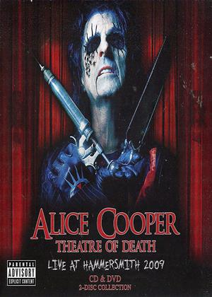Rent Alice Cooper: Theatre of Death: Live at Hammersmith 2009 Online DVD Rental