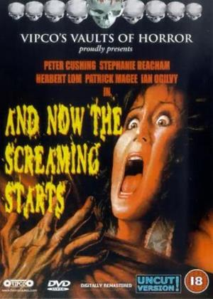 Rent And Now the Screaming Starts Online DVD Rental
