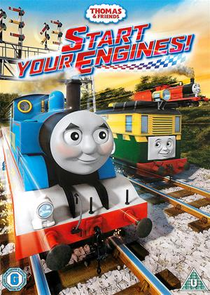 Rent Thomas the Tank Engine and Friends: Start Your Engines! Online DVD Rental