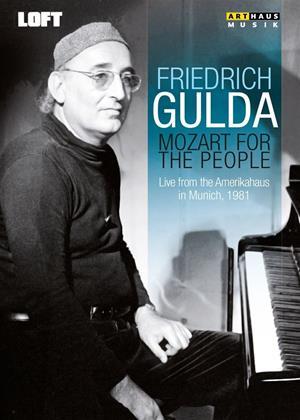 Rent Friedrich Gulda: Mozart for the People Online DVD Rental