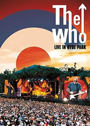Rent The Who: Live in Hyde Park Online DVD Rental