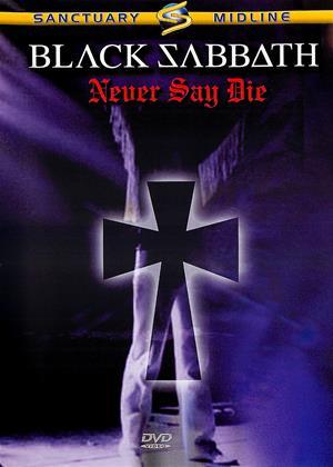 Rent Black Sabbath: Never Say Die Online DVD Rental