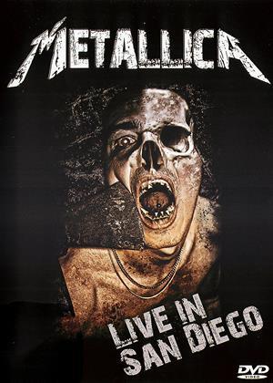Rent Metallica: Live in San Diego Online DVD & Blu-ray Rental