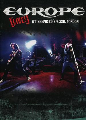 Rent Europe: Live at Shepherd's Bush, London Online DVD Rental