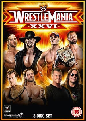Rent WWE: Wrestlemania 26 Online DVD Rental
