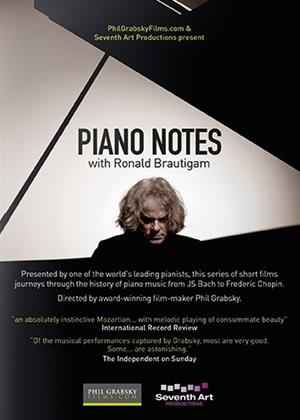Rent Piano Notes with Ronald Brautigam Online DVD Rental