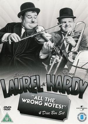 Rent Laurel and Hardy: All the Wrong Notes! Online DVD Rental