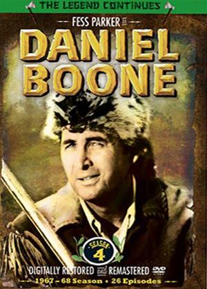 Rent Daniel Boone: Series 4 Online DVD Rental