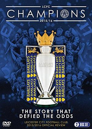 Rent Leicester City Football Club: 2015/16 Official Season Review Online DVD Rental