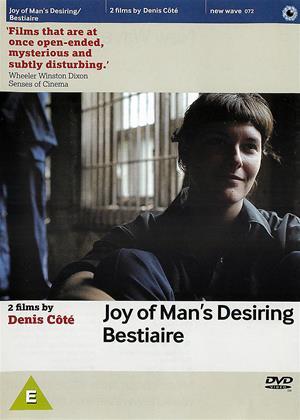 Rent Joy of Man's Desiring / Bestiaire (aka Que ta joie demeure / Bestiaire) Online DVD Rental
