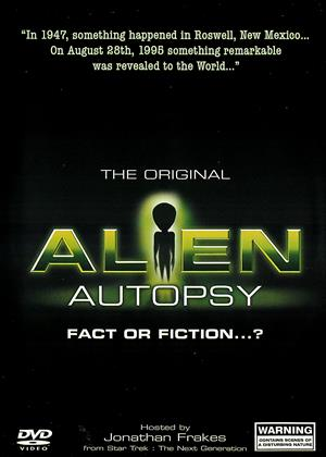 Rent Alien Autopsy: Fact or Fiction? (aka The Original Alien Autopsy: Fact or Fiction...?) Online DVD Rental