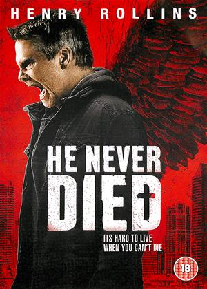Rent He Never Died Online DVD Rental
