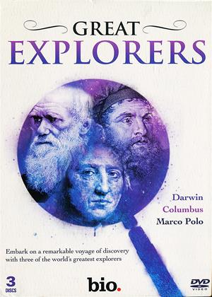 Rent Great Explorers (aka Great Explorers: Darwin, Columbus, Marco Polo) Online DVD Rental