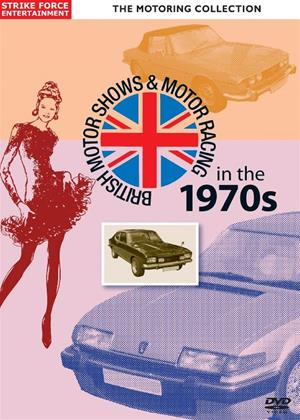 Rent British Motor Shows and Motor Racing in the 1970s Online DVD Rental