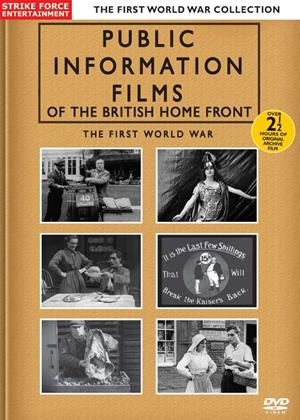 Rent British Home Front: Public Information Films of World War I Online DVD Rental