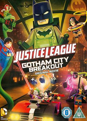 Rent Lego DC Comics Superheroes: Justice League: Gotham City Breakout (aka LEGO DC Justice League: Gotham City Breakout with Free Superhero Sticker Sheet) Online DVD Rental