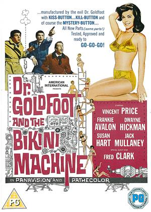 Rent Dr. Goldfoot and the Bikini Machine (aka Doctor Goldfoot and his Bikini Machine) Online DVD Rental
