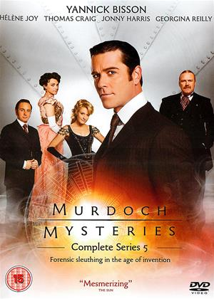 Rent Murdoch Mysteries: Series 5 Online DVD Rental