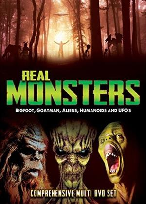 Rent Real Monsters: Vol.1 (aka Real Monsters: Bigfoot, Goatman, Aliens, Humanoids and UFOs) Online DVD Rental