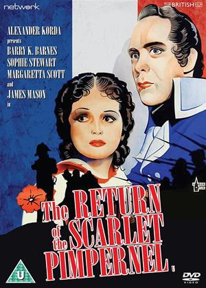 Rent The Return of the Scarlet Pimpernel Online DVD Rental