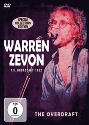 Rent Warren Zevon: The Overdraft Online DVD Rental