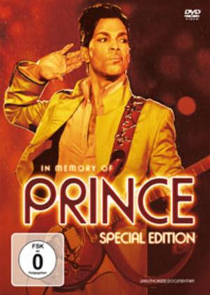Rent Prince: In Memory Of Online DVD Rental