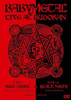 Rent Babymetal: Live in Budokan: Red Night and Black Night Apocalypse Online DVD Rental