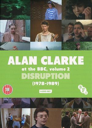 Alan Clarke at the BBC: Vol.2: Disruption 1978-1989 Online DVD Rental