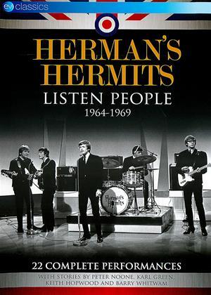 Rent Herman's Hermits: Listen People (aka British Invasion: Herman's Hermits - Listen People 1964-1969) Online DVD Rental