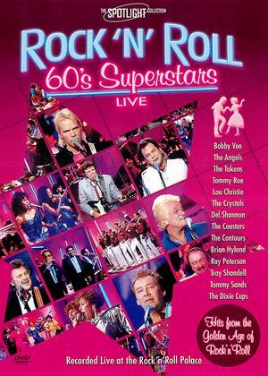 Rent Rock 'N' Roll 60's Superstars: Live Online DVD Rental