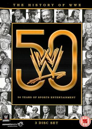 WWE: The History of WWE: 50 Years of Sports Entertainment Online DVD Rental