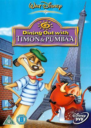 Rent Timon and Pumbaa: Dining Out Online DVD Rental