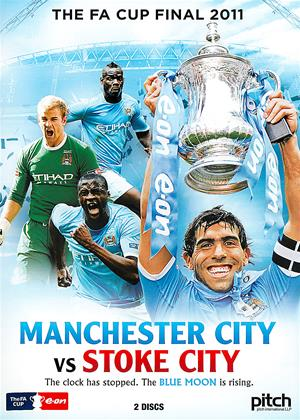 Rent The FA Cup Final: 2011: Manchester City vs. Stoke City Online DVD Rental