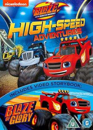 Rent Blaze and the Monster Machines: High-Speed Adventures Online DVD Rental
