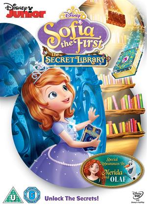 Rent Sofia the First: The Secret Library Online DVD Rental