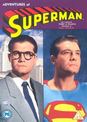 Rent The Adventures of Superman: Series 3 and 4 Online DVD Rental