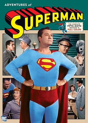Rent The Adventures of Superman: Series 5 and 6 Online DVD Rental
