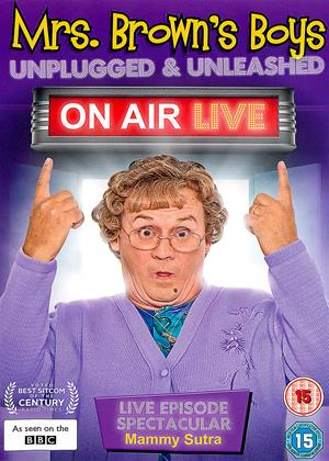 Rent Mrs. Brown's Boys: Unplugged and Unleashed: On Air Live Online DVD & Blu-ray Rental