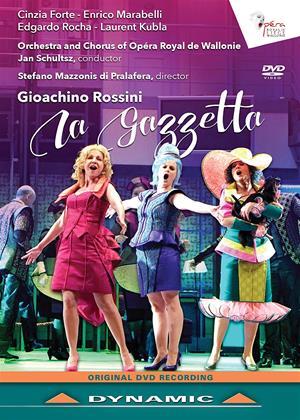 Rent La Gazzetta: Opéra Royal De Wallonie (Schultsz) Online DVD Rental