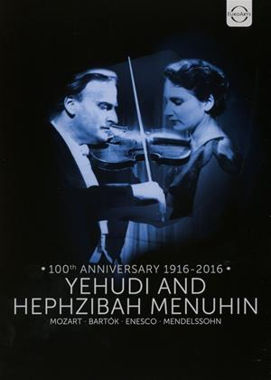 Rent Yehudi and Hephzibah Menuhin: 100th Anniversary 1916-2016 Online DVD Rental