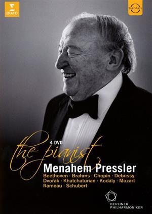 Rent Menahem Pressler: The Pianist Online DVD Rental