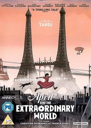Rent April and the Extraordinary World (aka Avril et le monde truqué) Online DVD Rental