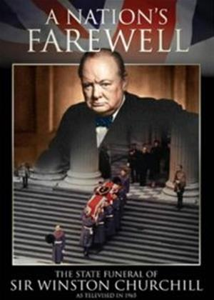 Rent A Nation's Farewell: The State Funeral of Winston Churchill (aka The End Of An Era: The State Funeral of Sir Winston Churchill) Online DVD Rental