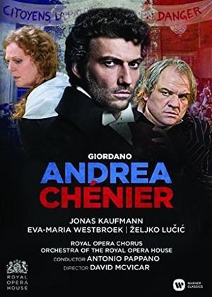 Rent Andrea Chénier: The Royal Opera (Antonio Pappano) (aka Andrea Chénier: Live from the Royal Opera House) Online DVD & Blu-ray Rental