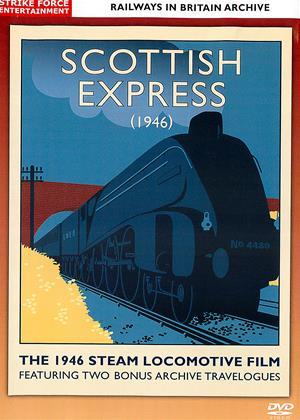 Rent Railways in Britain Archive: Scottish Express (1946) (aka Railways in Britain Archive: The Scottish Express The 1946 Steam Locomotive Film) Online DVD Rental
